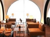 Turkish Airlines arrival lounge